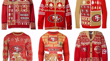 6 Ugly 49ers Sweaters To Keep The Cold Away