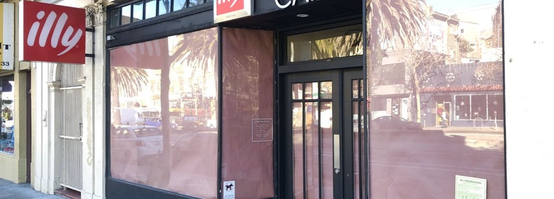 Castro's 'illy caffè' Returns As Holiday Pop-Up Shop