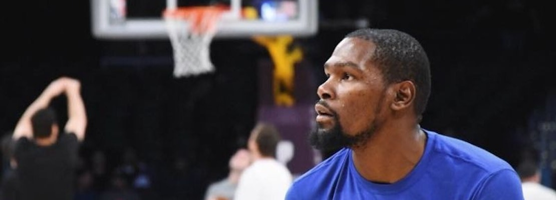 Durant Leads Warriors To 112-97 Victory Over Mavericks