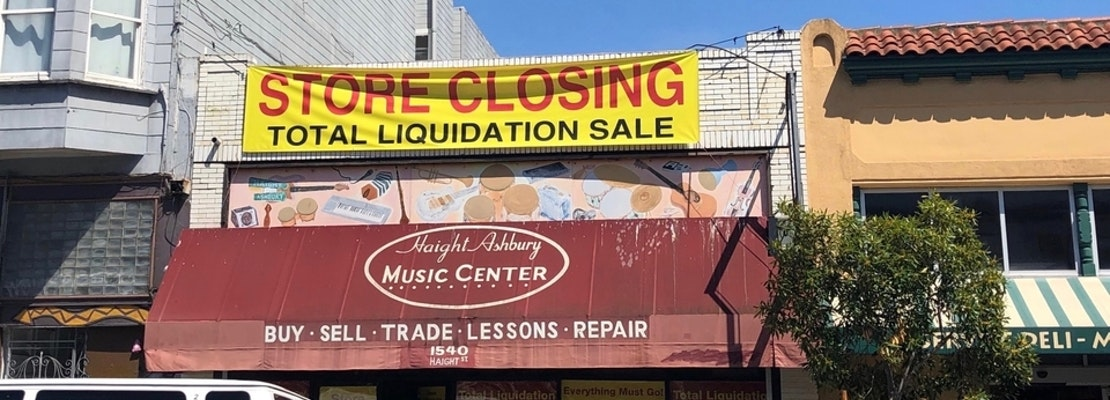 Haight Ashbury Music Center to close for good, just shy of its 40th anniversary