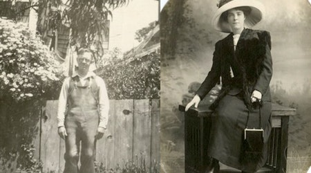New Year's Postcard From 1909 Unlocks Decades Of Bernal Family History