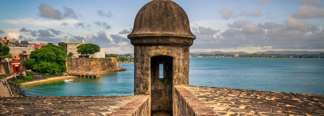 Experience the best of San Juan with cheap flights from New Orleans