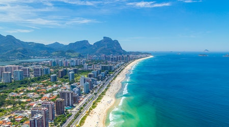 Travel from Tampa to Rio de Janeiro for Rock in Rio