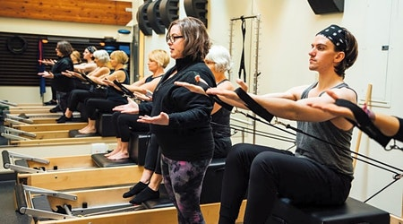 Get moving at Portland's top Pilates studios