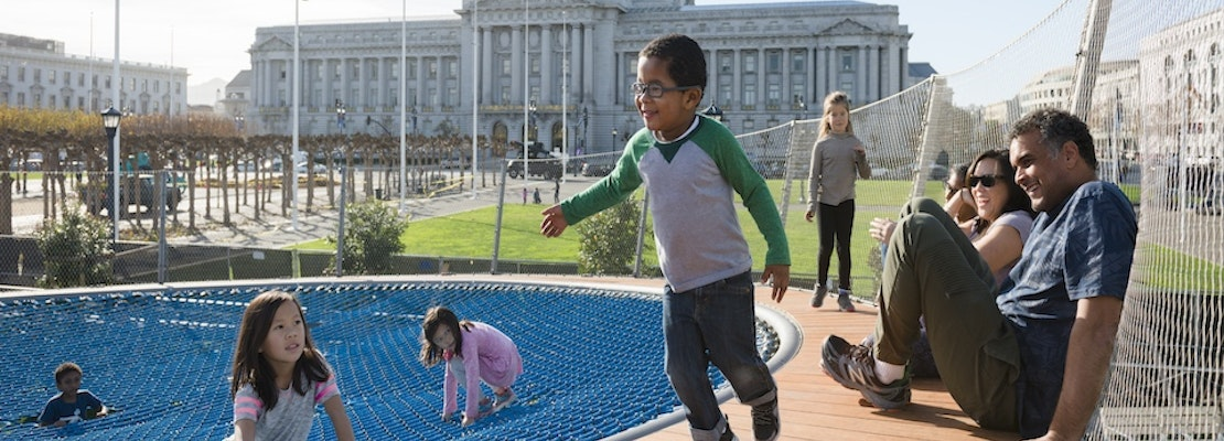 Renovated Civic Center Playgrounds Open On Valentine's Day