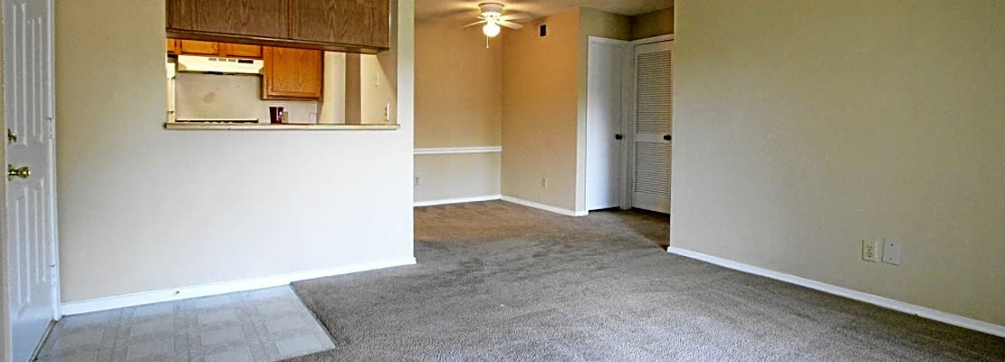 What apartments will $700 rent you in Hickory Ridge, this month?