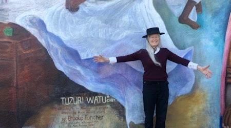 Restored Bayview mural Tuzuri Watu unveiled, following community effort to save it