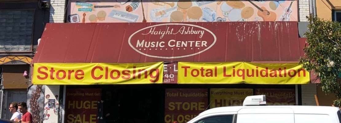 Despite attempts at intervention, Haight Ashbury Music Center still set to close