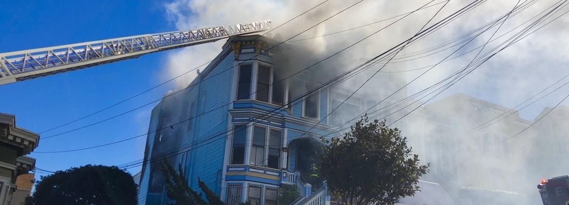 2-Alarm Fire Guts Alleged Castro Drug House