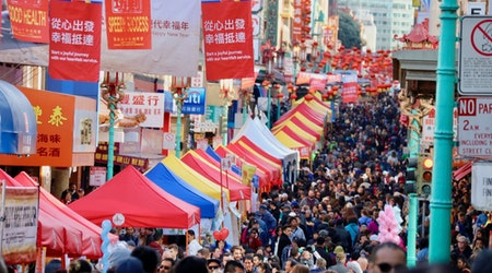 Scenes From 2018 Chinese Lunar New Year Parade