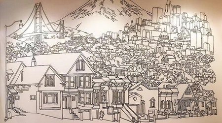 Bernal Heights Artist Creates San Francisco Mural In Tokyo