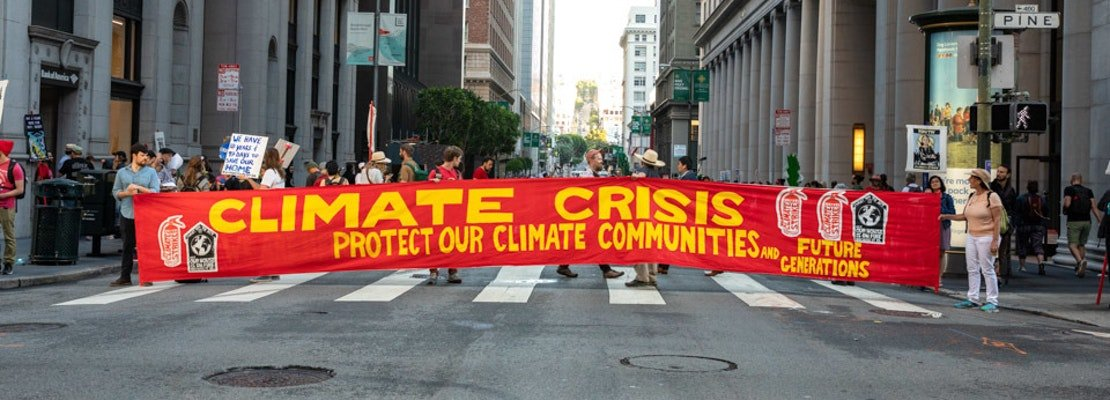Climate activists shut down multiple Financial District blocks in call to action