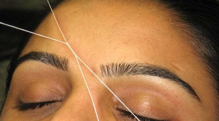 The 5 best threading service spots in Fresno