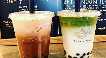 Milk Tea Café 'Urban Ritual' Pops Up In Design District