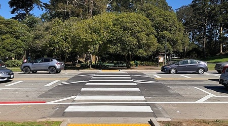 Pedestrian & cyclist safety upgrades debut in Golden Gate Park