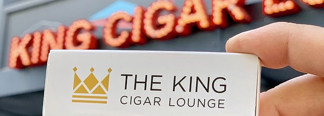 New cigar bar The King Cigar Lounge now open in Downtown