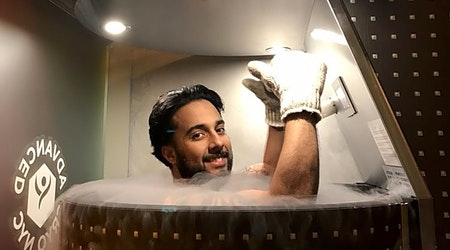 What's New York City's top cryotherapy spot?
