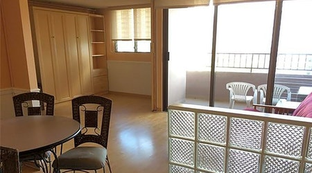 What apartments will $1,800 rent you in Waikiki, this month?