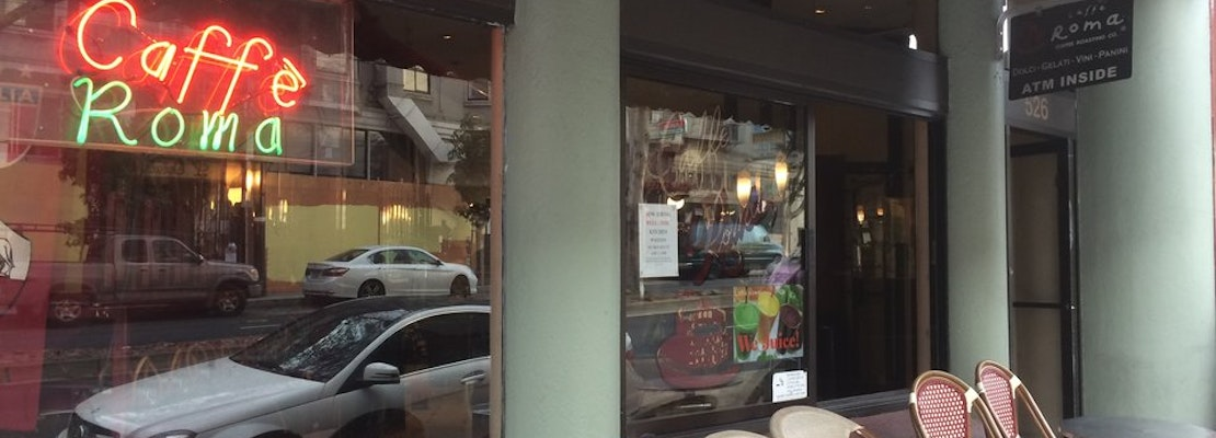 'Caffe Roma' Shuts Its Doors In North Beach