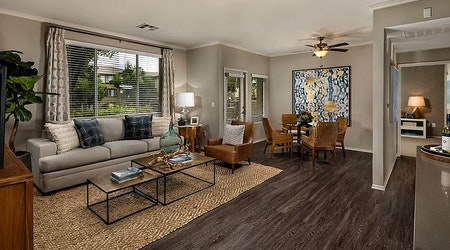 What apartments will $1,800 rent you in Canyon Crest, this month?
