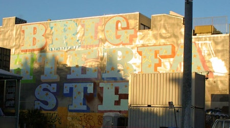 Writing on the Wall: Ben Eine and His Octavia Murals