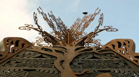 Sculpture At Patricia's Green To Stay Another Year
