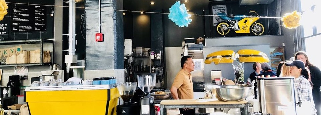 'Café Lambretta' Reborn In China Basin