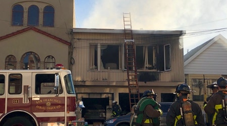2 displaced as 2-alarm Richmond fire guts house