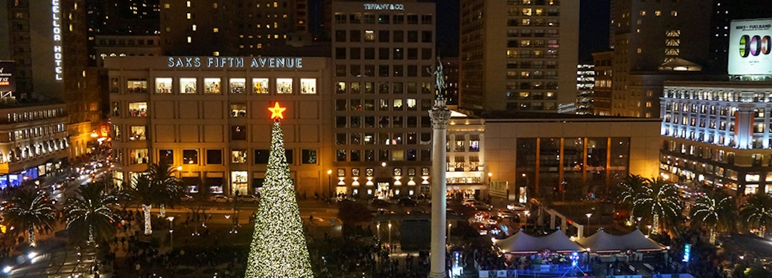 SF weekend: Ice rink returns to Union Square, $10 pet cuddling sessions, artisan gift fairs, more