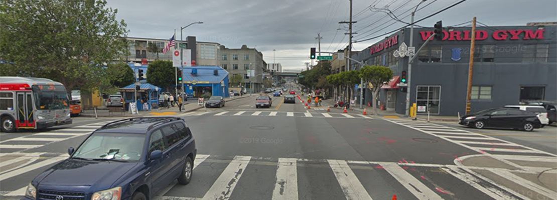 Pedestrian dies of brain injury after Saturday-morning collision at 16th & De Haro [updated]