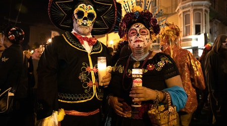 Scenes from the 2019 Day of the Dead Celebration