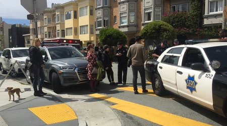 Suspect Stabs Two With Scissors In North Beach