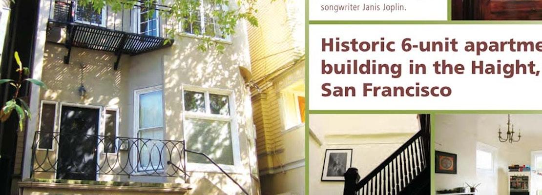 Janis Joplin's Apartment For Sale