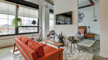 What apartments will $2,300 rent you in Downtown, this month?
