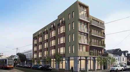 20 apartments to rise on the site of former gas station in Outer Sunset