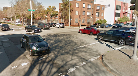 Cyclist on Bay Wheels bike in critical condition after being hit by driver near Alamo Square