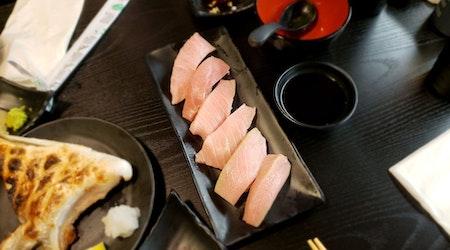 Bullet train sushi spot Hikari pulls into Japantown