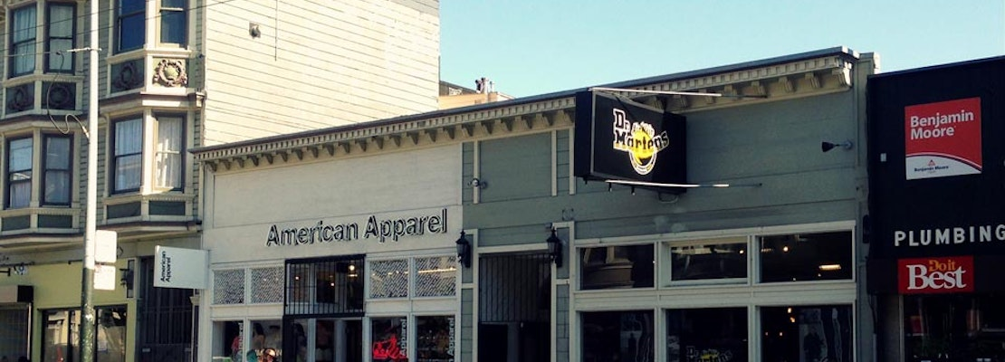 American Apparel's Haight Street Location Has A Permitting Problem