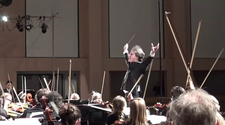 Getting to know Daniel Stewart, the SF Symphony Youth Orchestra's new conductor