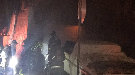 2 people rescued from Outer Sunset fire, as pets remain missing
