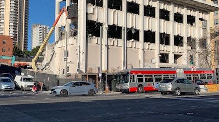 Former KRON 4 Van Ness HQ demolished to make way for new senior living facility