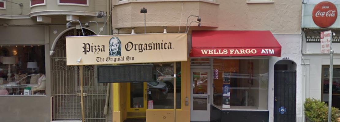 Final Pizza Orgasmica location shutters