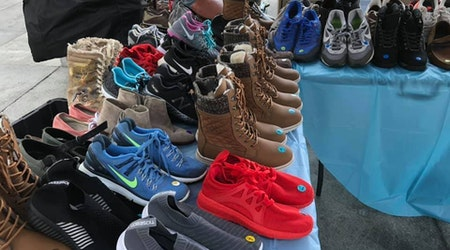 Sole Stop kicks off the holiday season with Saturday shoe drive at the Children's Museum