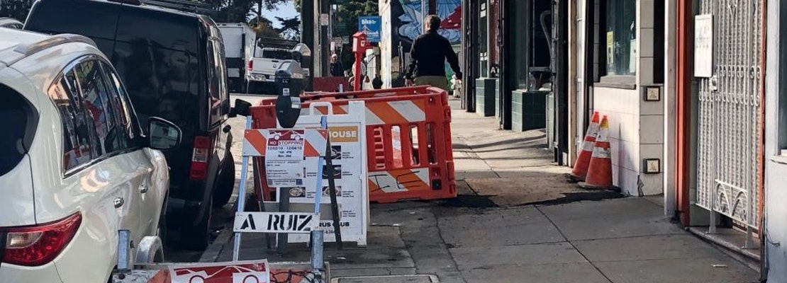 Upper Haight residents and businesses get holiday reprieve from construction