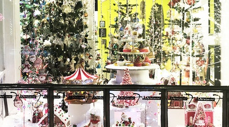 Hayes Valley merchants go all-out with shop window decorating contest