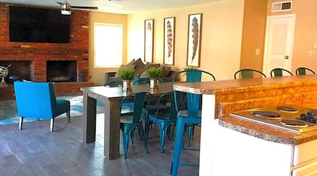 What apartments will $900 rent you in Cielo Vista, this month?