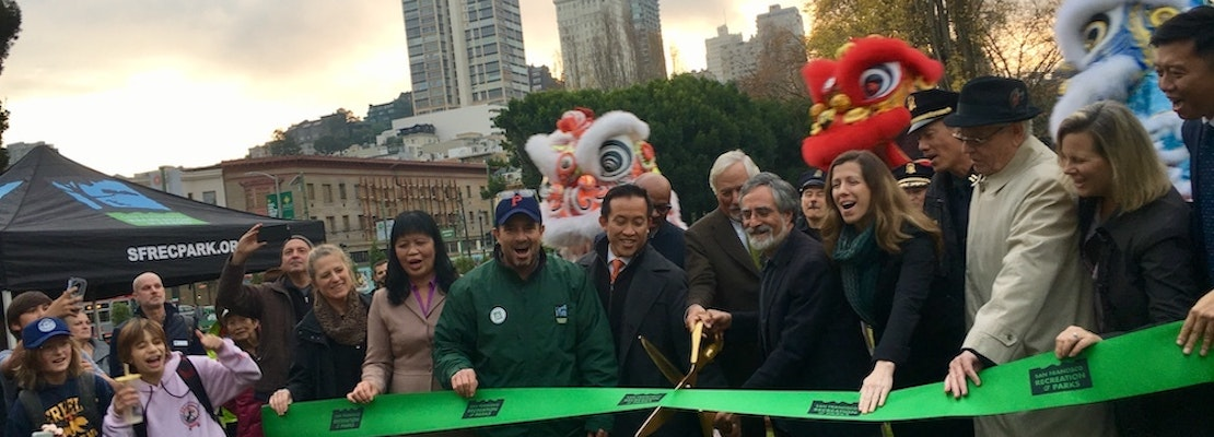 Washington Square Park returns to North Beach earlier than expected, with new features