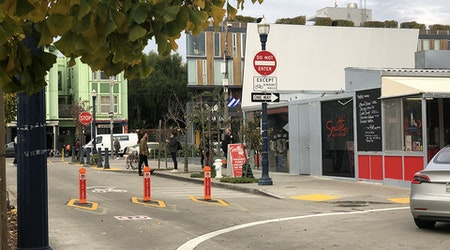 1 week in, Octavia Blvd. closure at Patricia's Green meets with cautious optimism