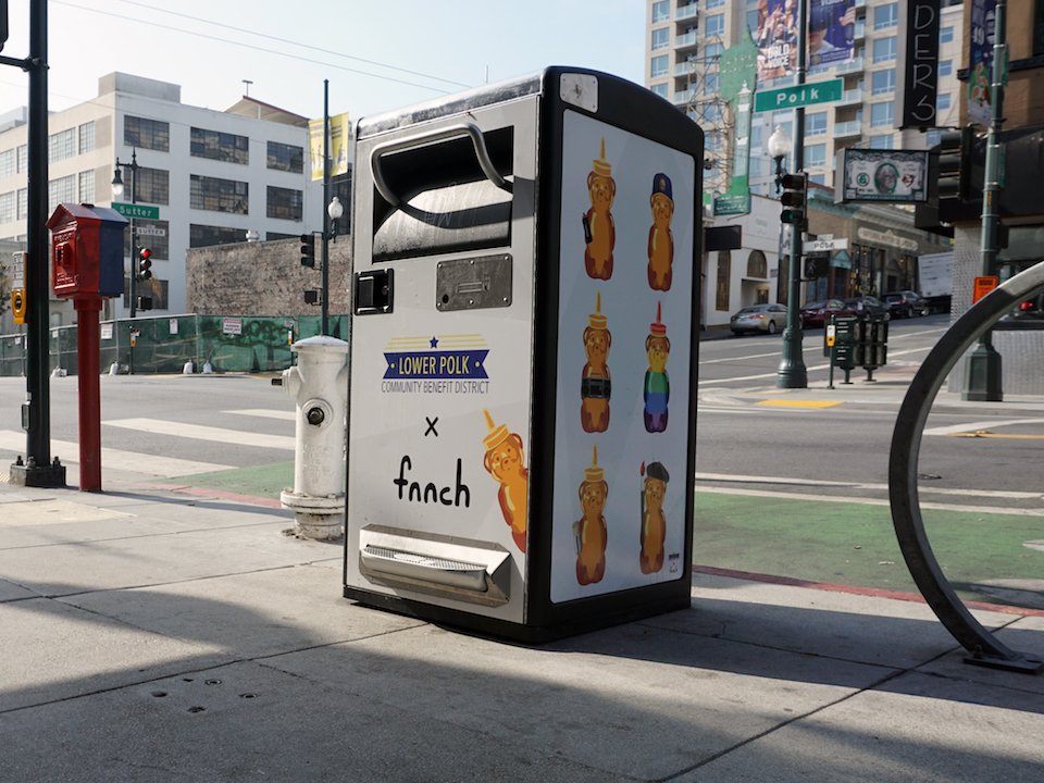 Privately Maintained Smart Trash Cans Continue To Proliferate In Sf