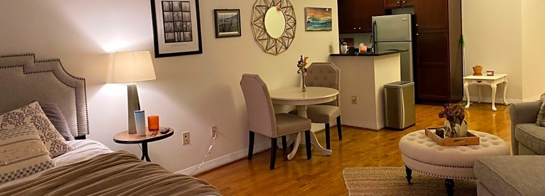 What apartments will $1,100 rent you in Downtown, today?